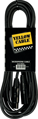 Yellow Cable M05X Cordon XLR Uros/XLR Naaras 5mt - soundstore-finland