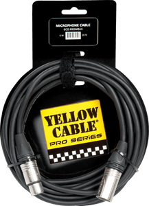 Yellow Cable PROM06X Neutrik XLR Uros/XLR Naaras 20ft/6mt - soundstore-finland