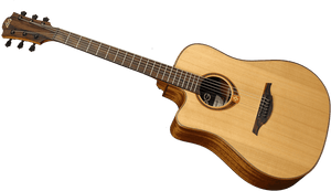 LAG TL118DCE  Dreadnought cutaway electro - soundstore-finland