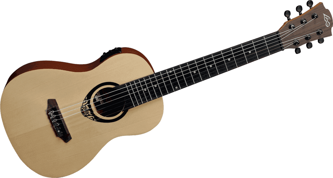 LAG Tiki Uku TKT15 Mini Guitar acoustic electric