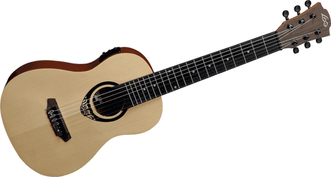 LAG TKT150E  Tiki Uku Mini Guitar acoustic electric