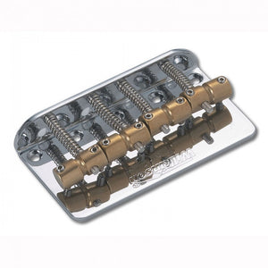 Wilkinson WBBCCR Barrel-Style Bass Bridge Chrome