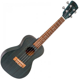 LAKA Concert Ukulele & Bag Midnight Blue