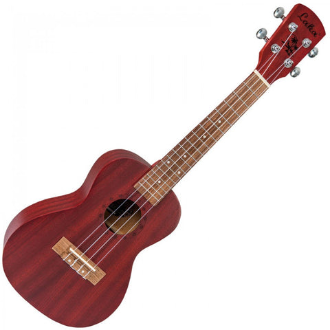 LAKA Concert Ukulele & Bag Red