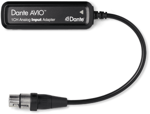 Audinate Dante analog input adaptor 1 channel ADP-DAI-AU-1X0 - soundstore-finland
