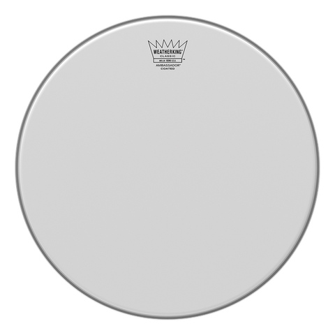 "Remo 14"" Classic Fit Ambassador Coated - soundstore-finland"
