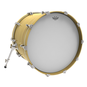 "Remo 22"" Ambassador Smooth White - soundstore-finland"
