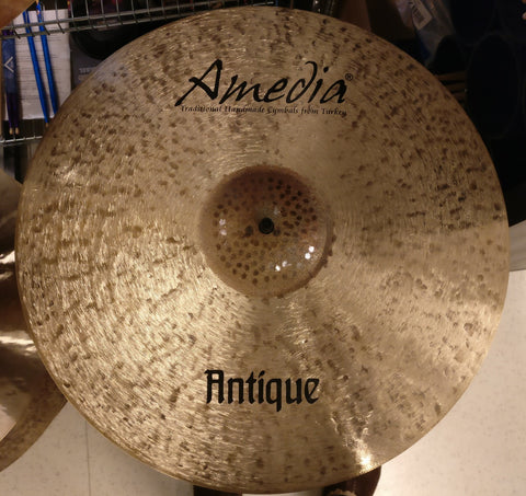 "Amedia Antique Brushed Paper Thin Crash 16"" - soundstore-finland"