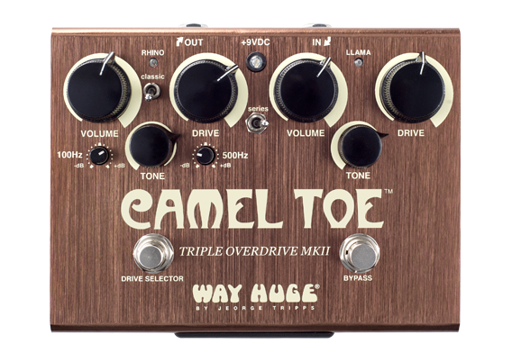 Way Huge WHE209 Cameltoe Triple Overdrive MkII