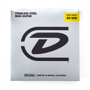 Dunlop Super Bright 40-100 Stainless Steel - soundstore-finland