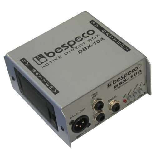 Bespeco DBX10A DI Direct Box aktiivi - soundstore-finland