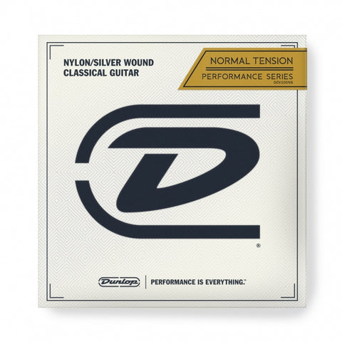 Dunlop Crystal Silver Nylon - soundstore-finland