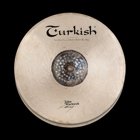 "Turkish John Blackwell Signature Hi-Hat 13"" - soundstore-finland"