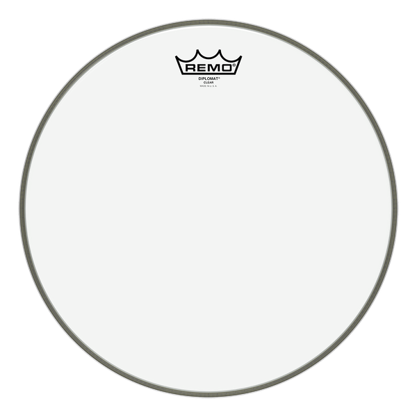 "Remo 12"" Diplomat Clear - soundstore-finland"