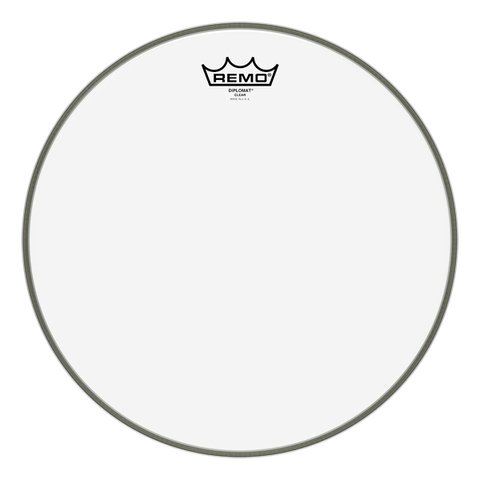 "Remo 13"" Diplomat Clear - soundstore-finland"
