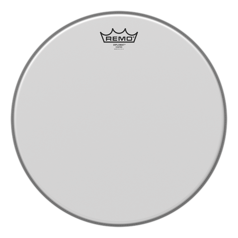"Remo 14"" Diplomat Coated - soundstore-finland"
