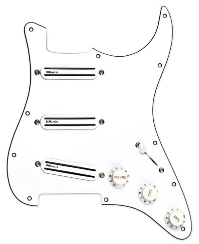 DiMarzio High Power Strat Replacement Pickguard Pre-Wired - soundstore-finland