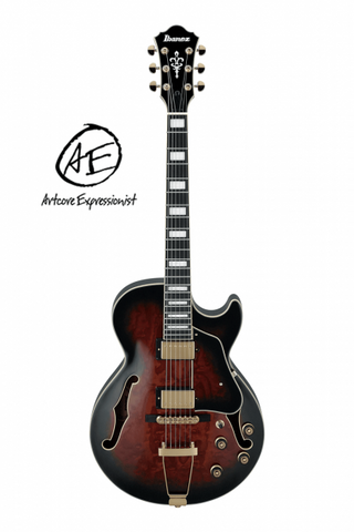 Ibanez AG95QA-DBS Artcore Expressionist - soundstore-finland