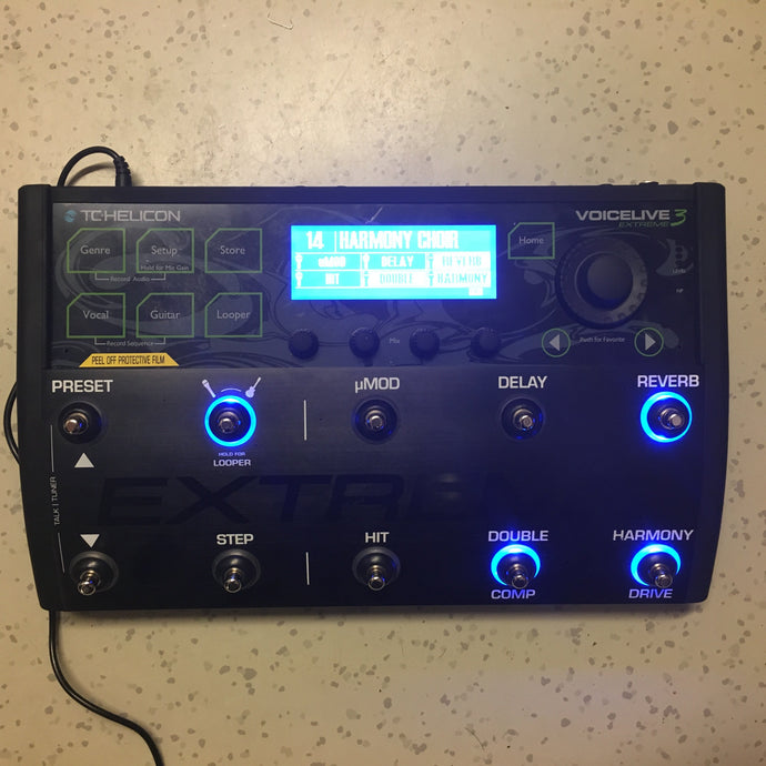 TC-Helicon Voicelive 3 Extreme (käytetty)