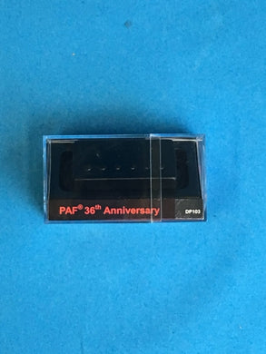 DM PAF 36th ANNIV. HUMB. BLACK METAL COVER - soundstore-finland