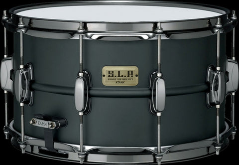 "Tama Big Black Steel 14""x8"" SLP virveli - soundstore-finland"