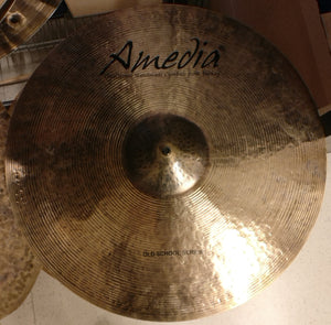 "Amedia Old School Crash 19"" - soundstore-finland"