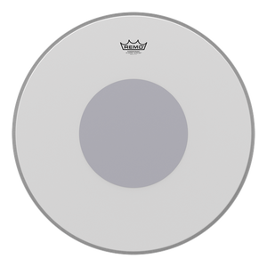 "Remo 20"" Powerstroke 3 Coated Black Dot - soundstore-finland"