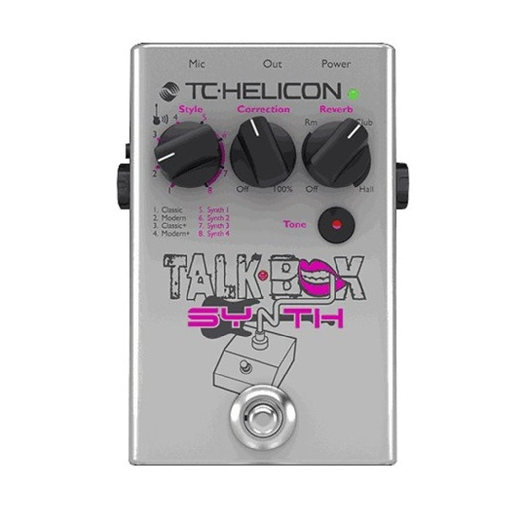 TC-Helicon Talkbox Synth - soundstore-finland