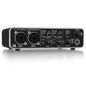 Behringer U-PHORIA UMC202HD USB Audio Interface - soundstore-finland