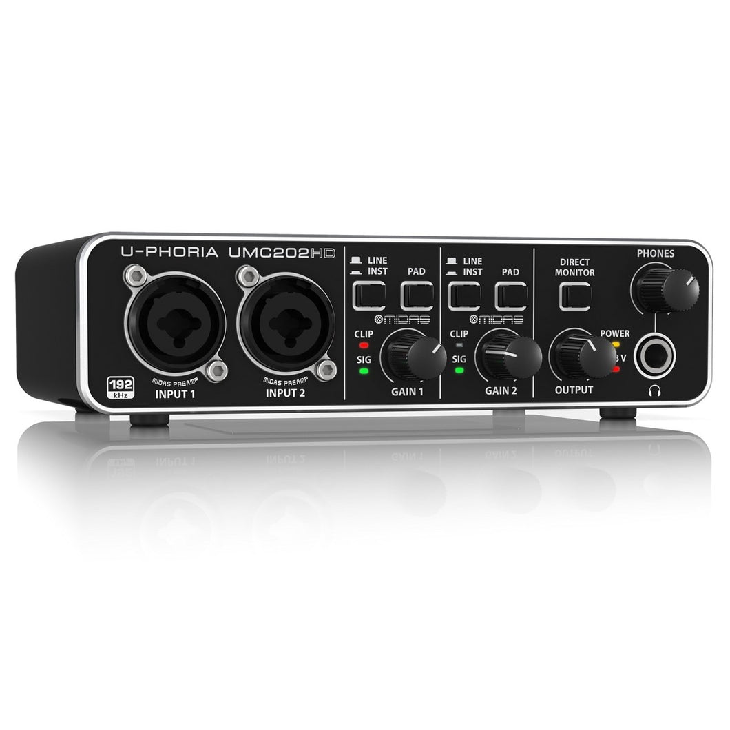 Behringer U-PHORIA UMC202HD USB Audio Interface