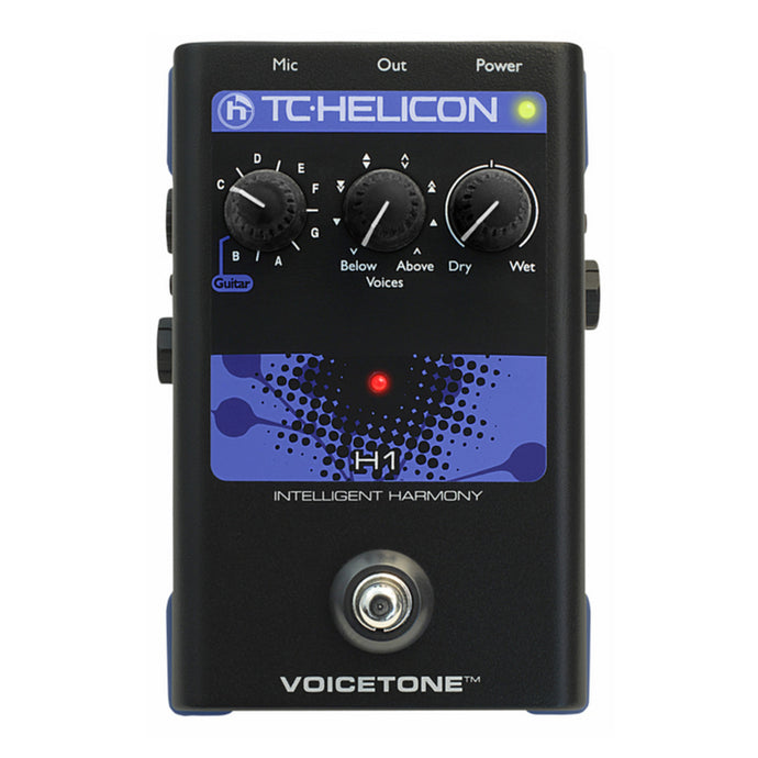 TC-Helicon VoiceTone H1 Intelligent Harmony