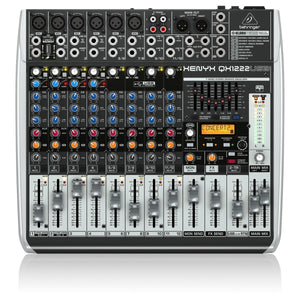 Behringer Xenyx QX1222USB mikseri - soundstore-finland