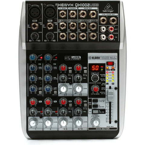 Behringer Xenyx QX1002USB mikseri - soundstore-finland