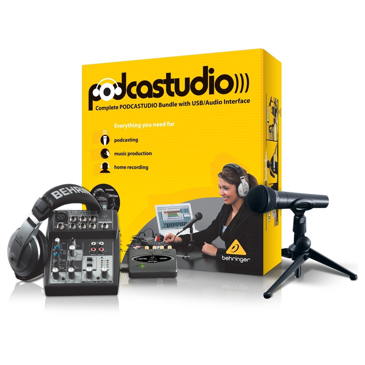 Behringer Podcastudio USB - soundstore-finland
