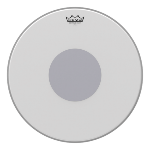 "Remo 18"" Controlled Sound Coated - soundstore-finland"