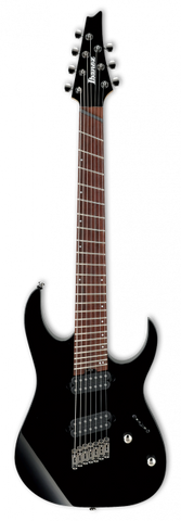 Ibanez RGMS7-BK Multi Scale - soundstore-finland