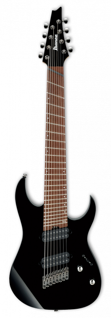 Ibanez RGMS8-BK Multi Scale - soundstore-finland