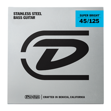 Dunlop Super Bright 45-125 Stainless Steel - soundstore-finland