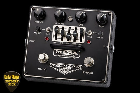 Mesa Boogie Throttle Box EQ - soundstore-finland