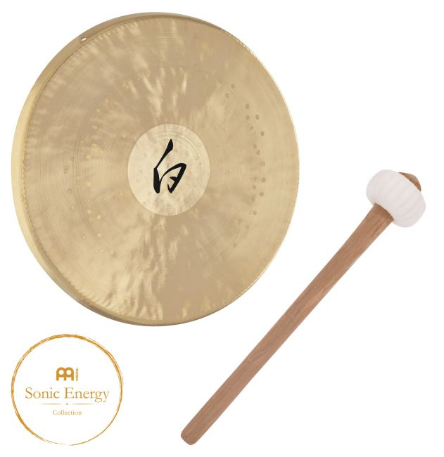 "Meinl Sonic Energy White Gong 12"" - soundstore-finland"