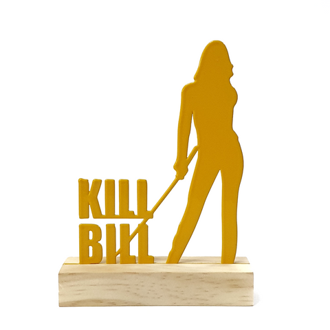 Escultura de Metal - Kill Bill, Decorativo do Studio Makers Manufatura