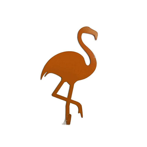 Porta Chaves Cool - Flamingo - Laranja, BBB18 do Studio Makers Manufatura