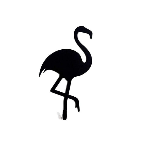 Porta Chaves Cool - Flamingo, Ganchos do Studio Makers Manufatura