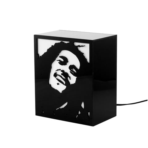 Luminária Backlight - Bob Marley-Luminária-Studio Makers - por Makers Manufatura