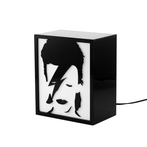Luminária Backlight - David Bowie-Luminária-Studio Makers - por Makers Manufatura