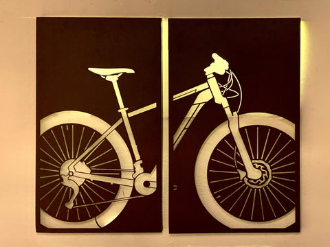 Quadro Ciclismo - com LED, Decorativo do Studio Makers Manufatura