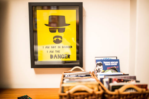 Quadro Breaking Bad, Decorativo do Studio Makers Manufatura