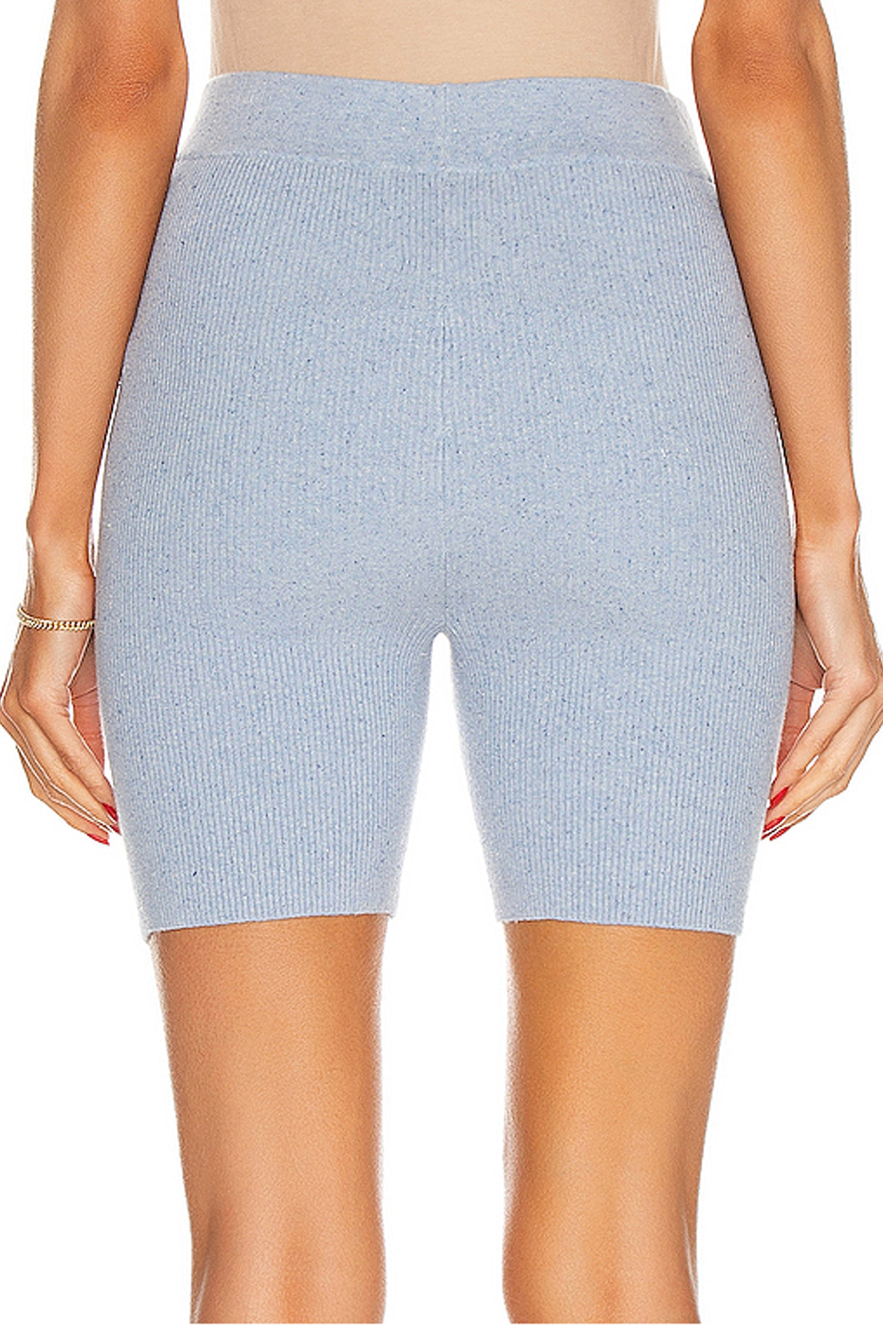 Edgewater Ribbed Bike Shorts