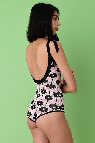 Rose Floral Bodysuit
