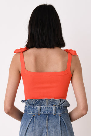 Red Crop Camisole